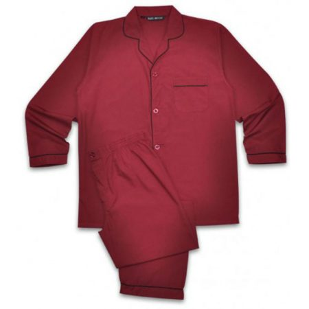 Rael Brook Pyjamas Burgundy