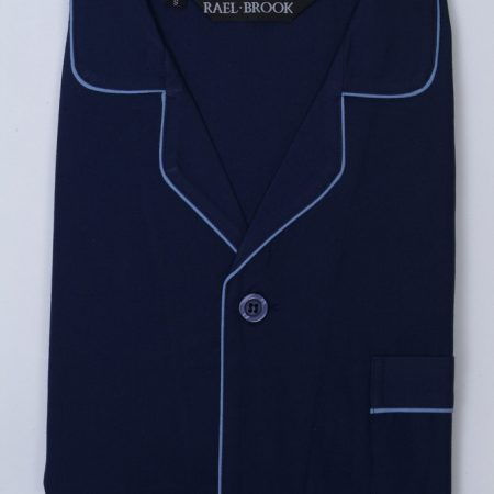 Rael Brook Pyjamas Navy Blue-0
