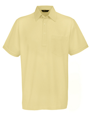 Gabicci Corn Plain Button Polo Shirt