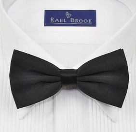 Rael Brook Bow Ties Black