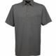 Gabicci Sage Plain Button Polo Shirt