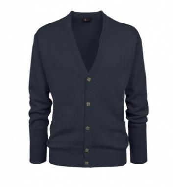 Gabicci Navy Plain Knitwear Cardigan