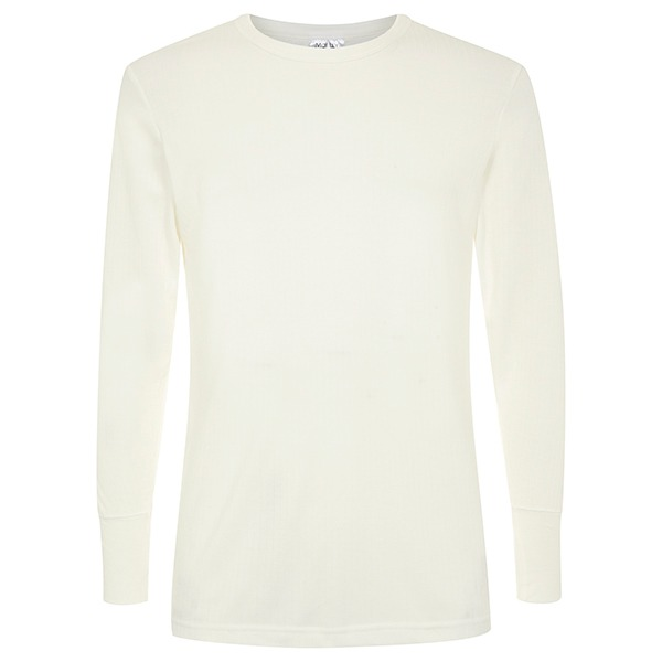 Morley long sleeve natural thermal twin pack t shirt