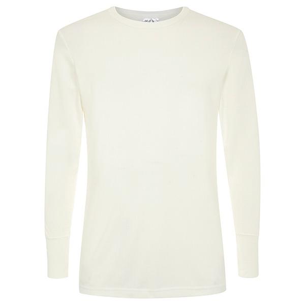Morley long sleeve natural thermal twin pack t shirt