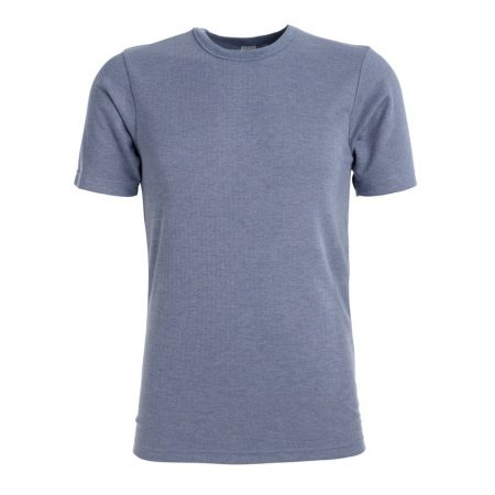 Wolsey short sleeve blue thermal twin pack t shirt -0