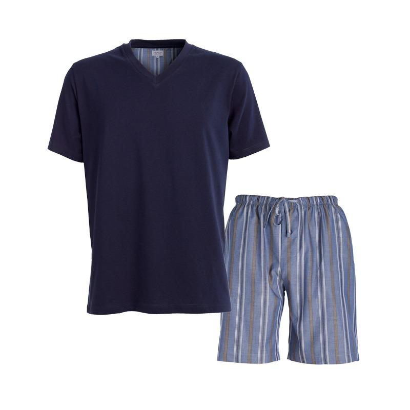 Morley short leisure suit navy