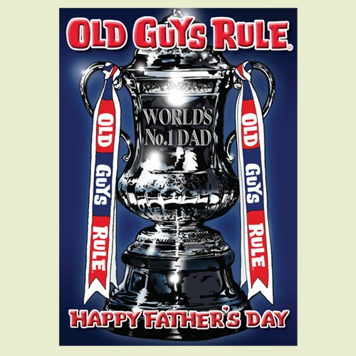 Old Guys Rule Father's Day Card