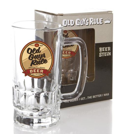 Old Guys Rule Beer Belly Stein