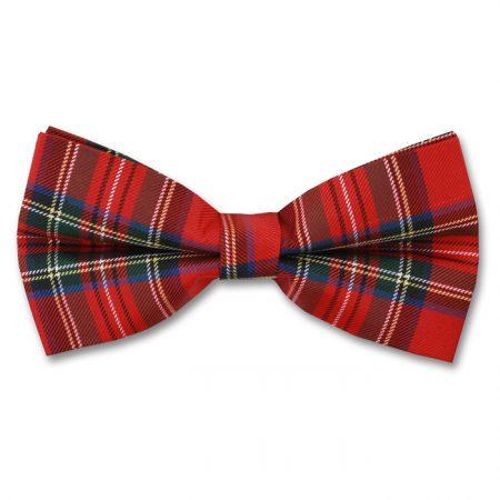 Sophos Royal Stewart tartan bow tie-0