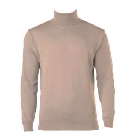 Peter Gribby camel roll neck