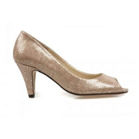 Van Dal Walsingham Metallic Taupe Dress Shoes