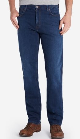 Wrangler Dark Texas Stretch Jeans