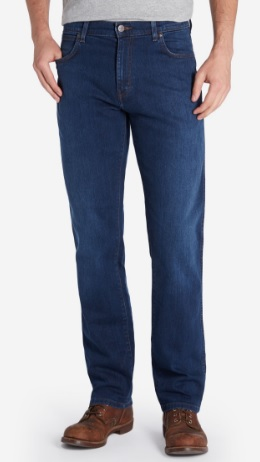 Wrangler Dark Texas Stretch Jeans