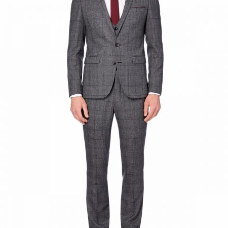 Remus Uomo tweed check mix n match Suit waistcoat