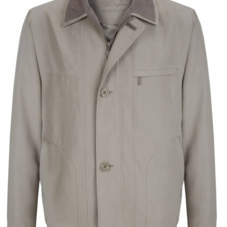 Wellington beige casual jacket - Amalfi