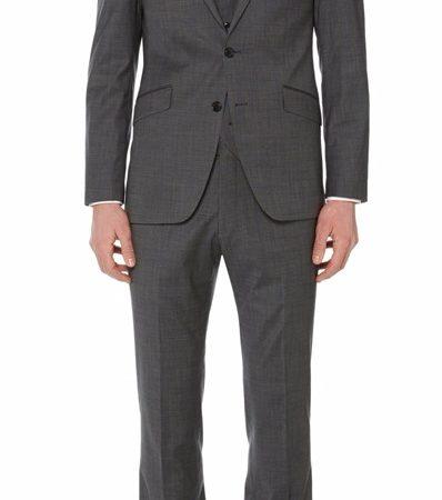 Remus Uomo mix & match 3 piece grey suit - Jacket