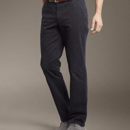Meyer trousers Roma 316 navy cotton stretch trousers