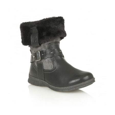 Lotus Relife Roxana Black Mid Calf Boots