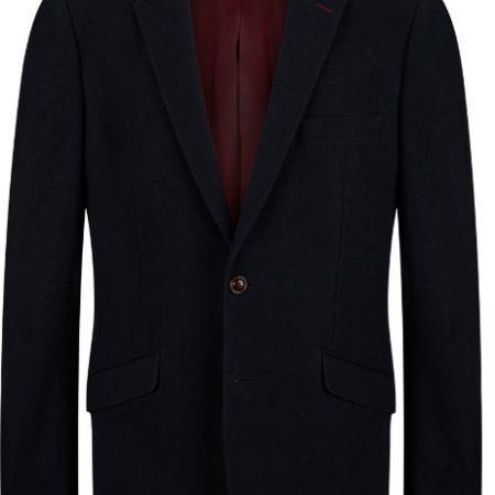Douglas Navy Buttoned Dress Jacket