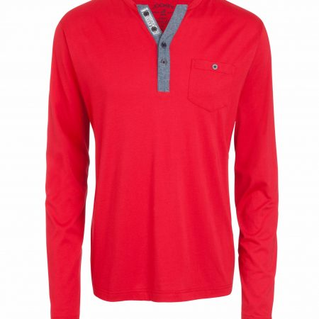 Jockey long sleeve red t shirt