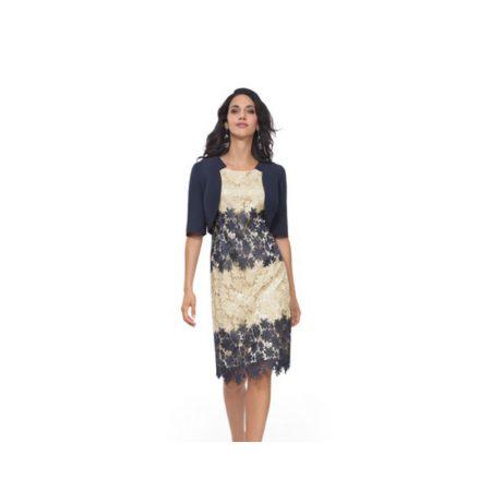 Michaela Louisa Lace Dress Matching Bolero Set