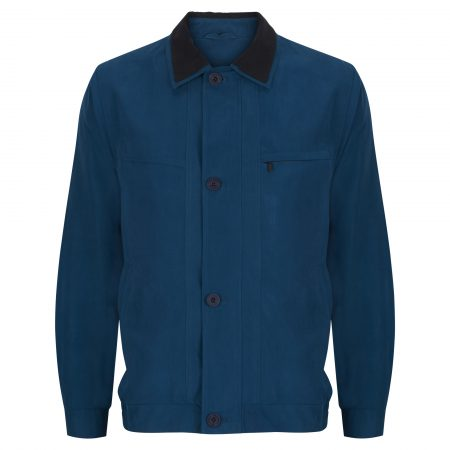 Wellington sea blue casual jacket - Amalfi