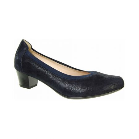 Alpina Fauna Navy Leather Dress Shoes