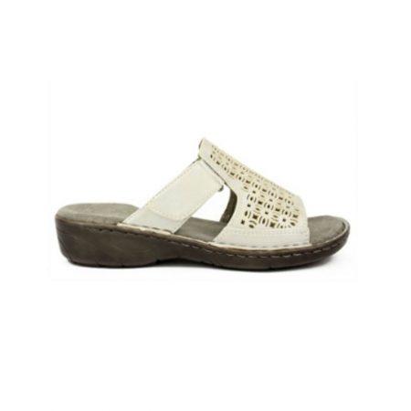 Jenny Ara Korsika Ice Silver Mule Sandals