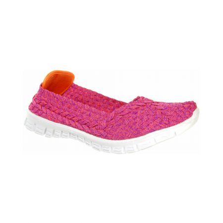 Adesso Lolly Pink Stretch Flat Shoes
