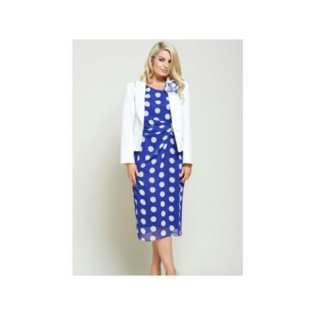 Personal Choice Polka Dot Print Dress