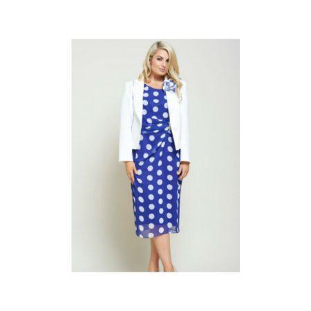 Personal Choice Polka Dot Print Dress