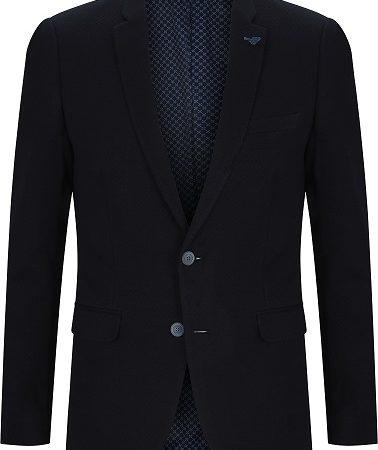 Remus Uomo slim fit navy jacket