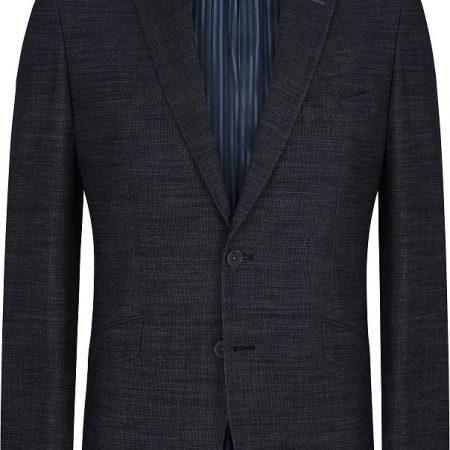 Douglas Navy Multi Wool Dress Jacket