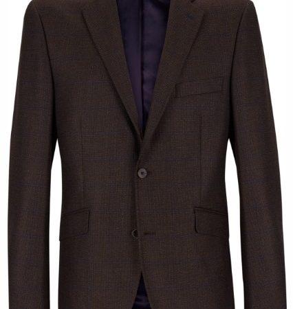 Douglas Brown Check Dress Jacket