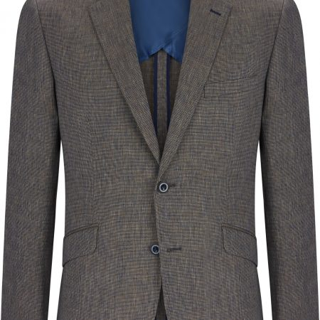 Douglas Grey Multi Linen Blend Jacket
