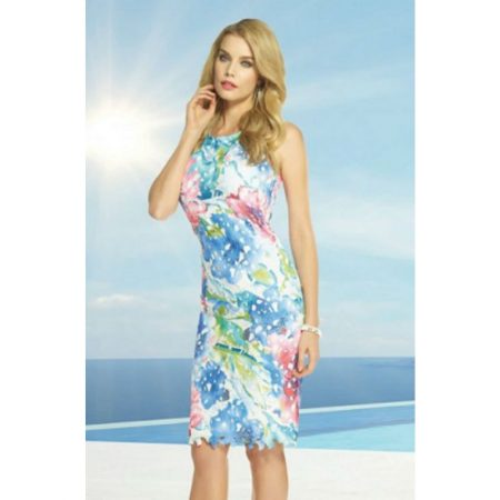 Frank Lyman Multi Coloured Floral Print Dress
