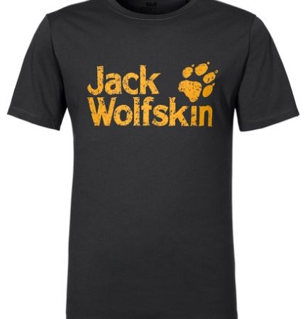 Jack Wolfskin Black Yellow Pride Tshirt