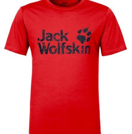 Jack Wolfskin Fiery Red Pride Tshirt