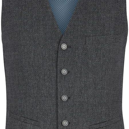 Remus Uomo grey waistcoat