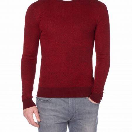 Remus Uomo Red Crew neck Sweater