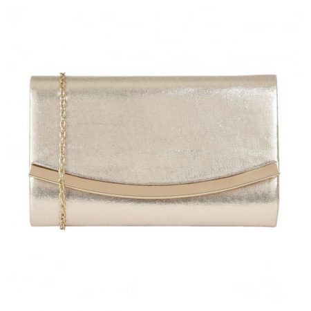 Lotus Hester Light Gold Evening Bag