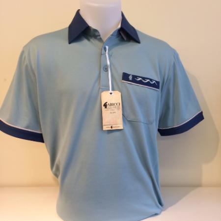 Gabicci Spearmint Multi Sports Shirt
