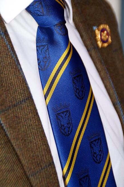 Official Royal Burgh of Lanark Gents Tie