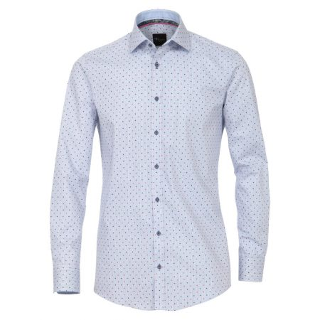 Venti blue patterned shirt