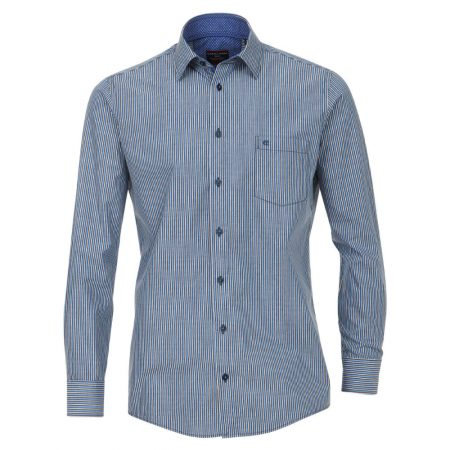 Casa Moda Blue Striped Shirt