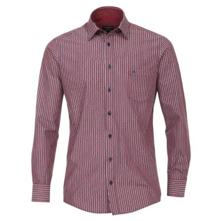 Casa Moda Red Striped Shirt