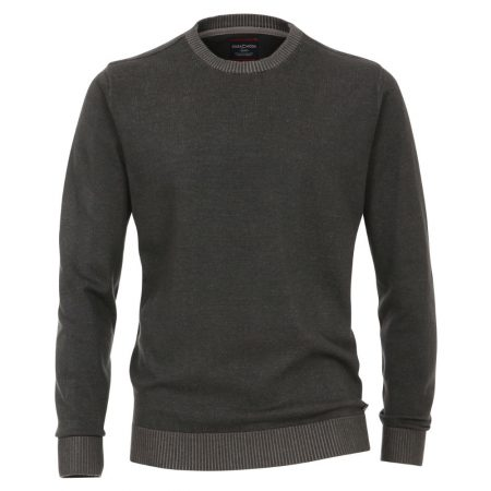 Casa Moda Grey Crew Neck Knitwear