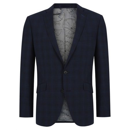 Remus Uomo Navy Palucci Mix + Match Suit Jacket