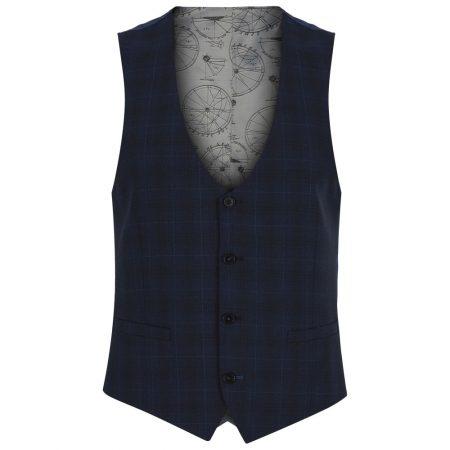 Remus Uomo Navy Palucci Mix + Match Suit Waistcoat