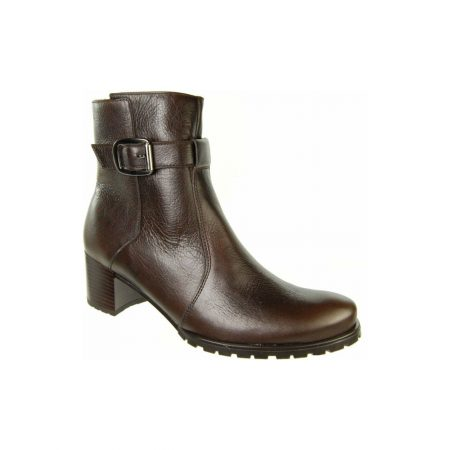 Alpina Anniston Brown Leather Ankle Boots